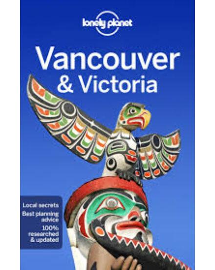 Vancouver útikönyv (angol) Vancouver Lonely Planet
