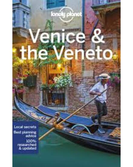 Velence és Veneto tartomány útikönyv (angol) Lonely Planet Venice the Veneto Lonely