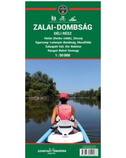 Cartographia  - Zalai-dombság déli rész turistatérkép