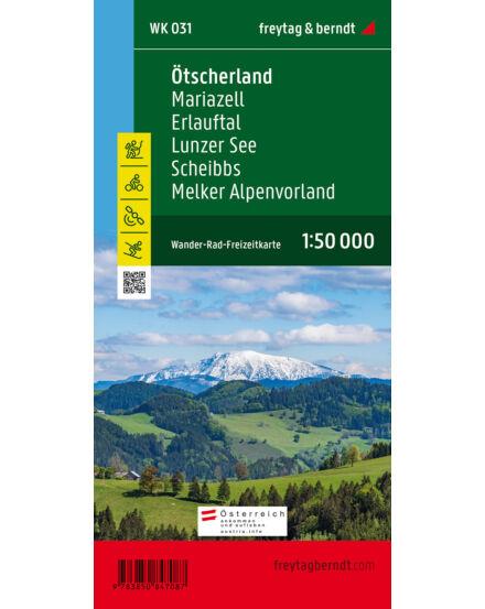 Cartographia  - WK031 Ötscherland–Mariazell–Erlauftal–Lunzer See–Scheibbs–Melker Alpenvorland térség turistatérkép