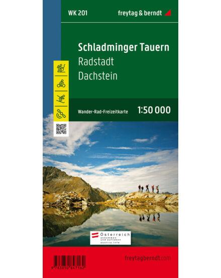 Cartographia  - WK201 Schladminger Tauern- Radstadt- Dachstein turistatérkép