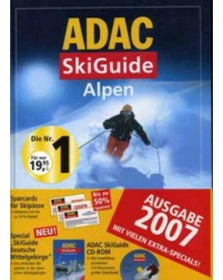Sí Guide Alpok 2007 ADAC CD-vel