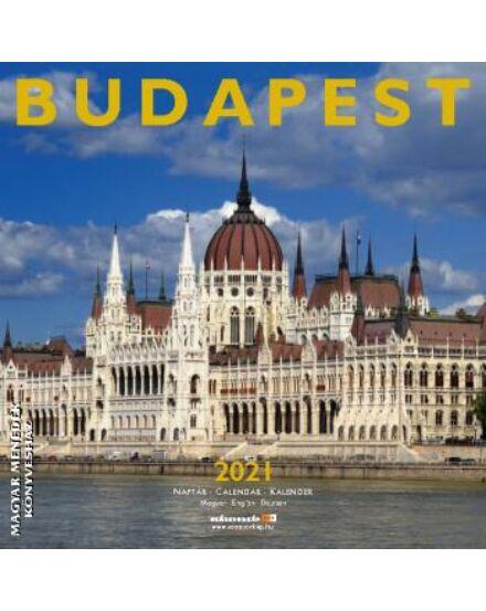 Cartographia  - Budapest falinaptár 2021