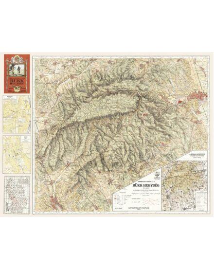 Bükk térkép (1933) -angyalos (HM)