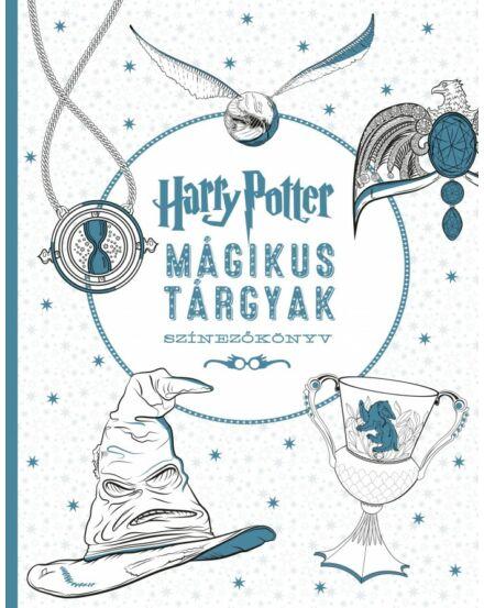Harry Potter Mágikus tárgyak színezőkönyv