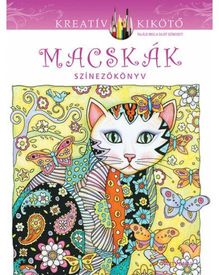 Macskák színezőkönyv