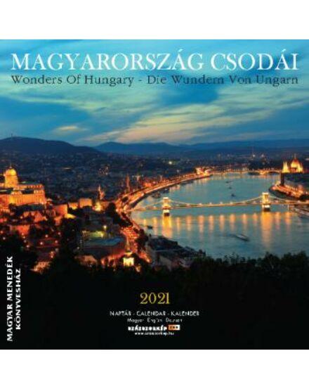 Cartographia  - Magyarország Csodái falinaptár 2021