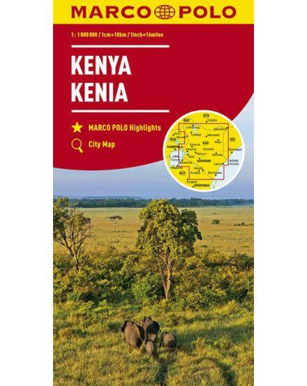 Cartographia  - Kenya térkép