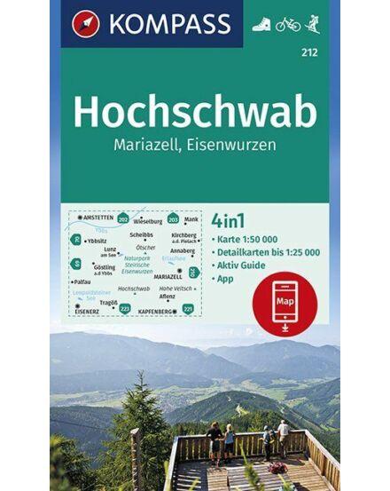 Cartographia  - K 212 Hochschwab-Mariazell turistatérkép
