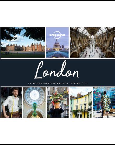 Cartographia - London fotóalbum (angol) Lonely Planet