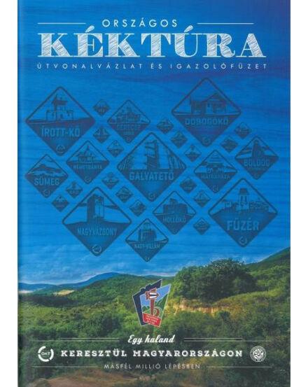 Cartographia  - Országos Kéktúra útvonalvázlat és igazolófüzet