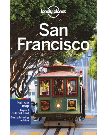 San Francisco útikönyv (angol) Lonely Planet