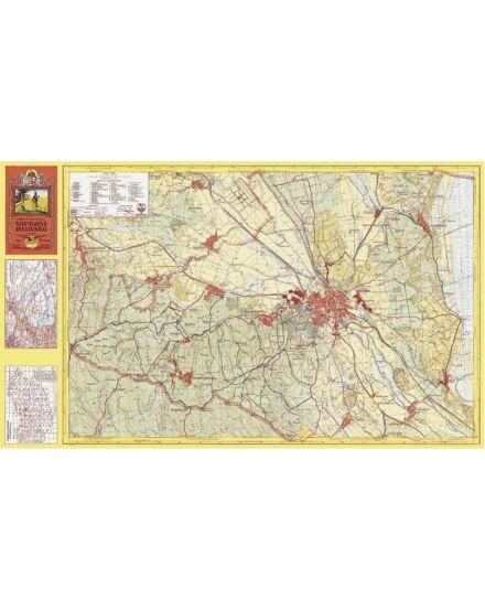 Soproni-hegység térkép (1931) -angyalos (HM)