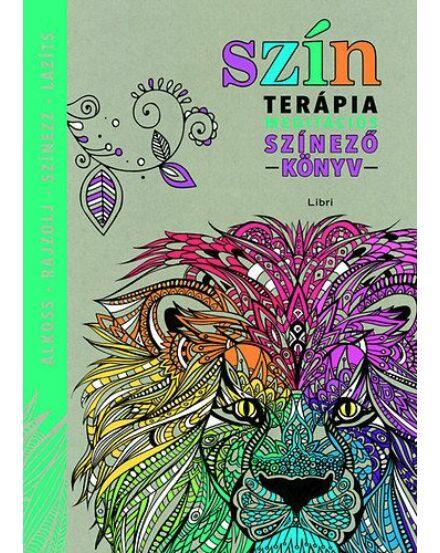Színterápia - Meditációs színezőkönyv (Libri)