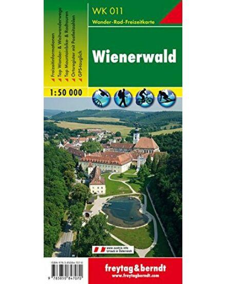 WK011 Wienerwald turistatérkép