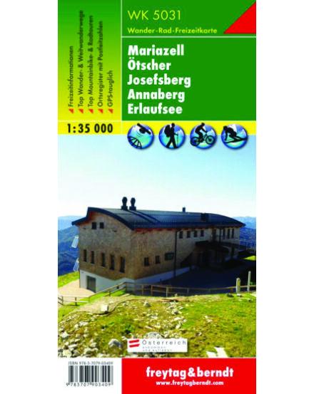 WK5031 Mariazell-Ötscher-Josefsberg-Annaberg turistatérkép