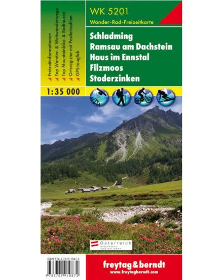WK5201 Schladming-Ramsau-Dachstein-Filzmoos turistatérkép