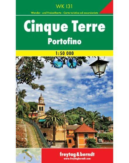 WKI 31 Cinque Terre turistatérkép