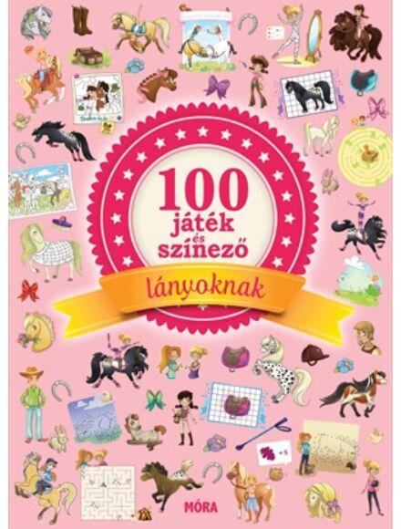 100 játék és színező lányoknak