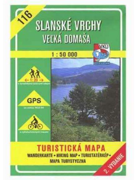 Cartographia  - HM116 Szalánci-hegység (észak) turistatérkép