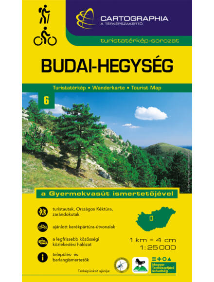 Cartographia  - Budai-hegység turistatérkép [6]