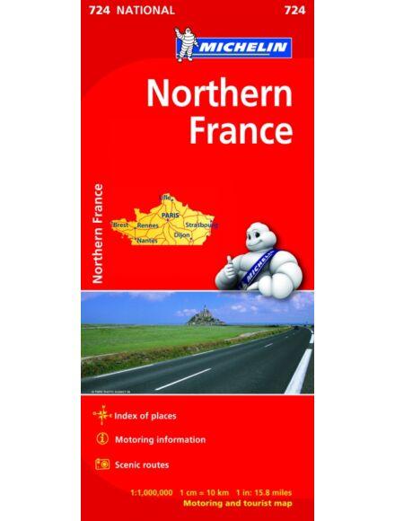 Cartographia  - Franciaország - Észak térkép (724)