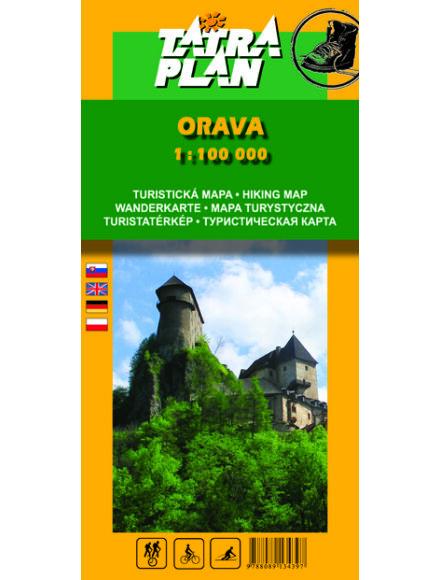 TP Árva (Orava) turistatérkép