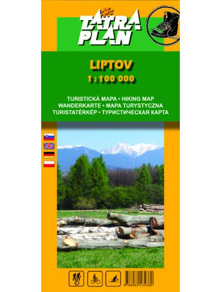 Cartographia  - TM Liptó turistatérkép