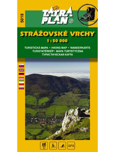 Cartographia  - TP5018 Sztrázsó-hegység turistatérkép