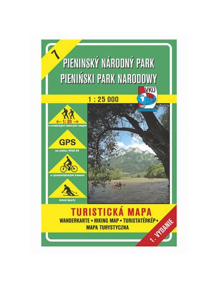 HM7 Pieninek Nemzeti Park turistatérkép