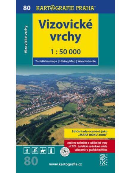 Cartographia  - TM 80 - Vizovické vrchy