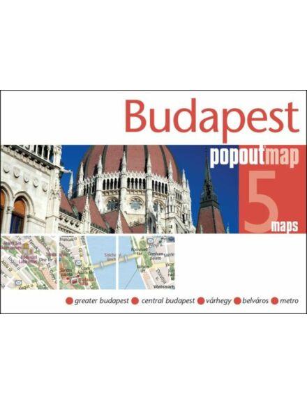 Cartographia  - Budapest PopOut várostérkép