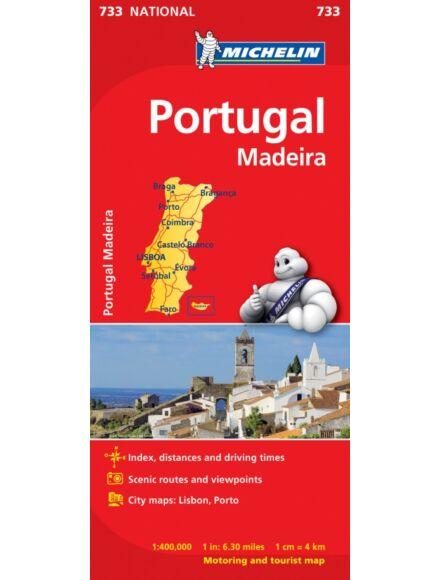 Cartographia  - Portugália és Madeira térkép (733)