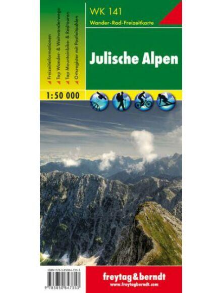 WK141 Júliai-Alpok turistatérkép