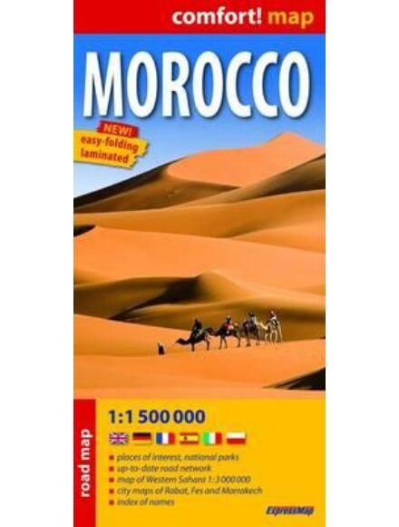 Cartographia  - Marokkó Comfort térkép
