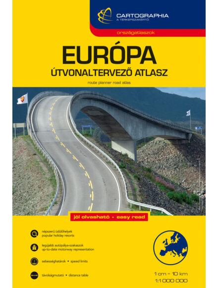 Cartographia  - Európa útvonaltervező atlasz