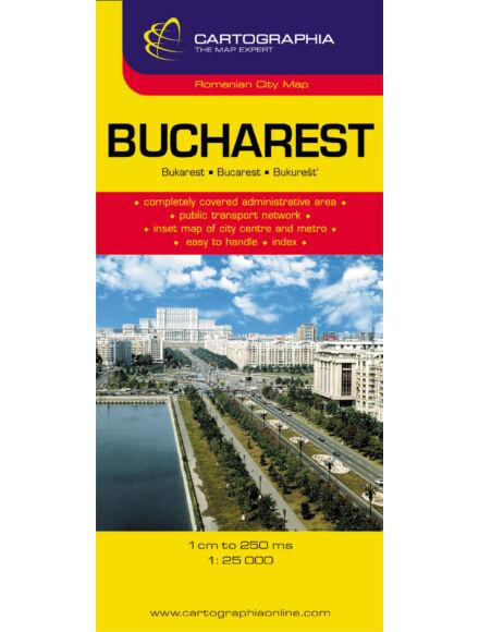 Cartographia  - Bukarest teljes várostérkép