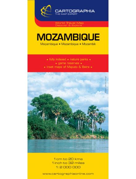 Cartographia  - Mozambik/Szváziföld térkép