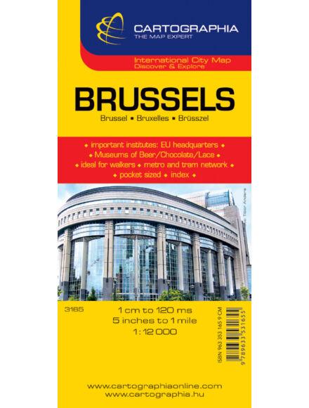 Brüsszel várostérkép