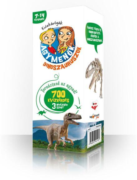 Agymenők kártya 7-14 éveseknek - Dinoszauruszok