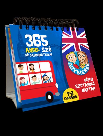 Cartographia  - Agymenők 365 angol szó példamondatokkal (7-9 éveseknek)