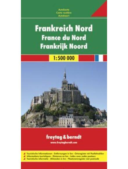 Cartographia  - Franciaország - Észak térkép