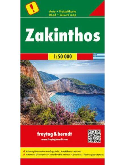 Zakinthos térkép 1:50 000