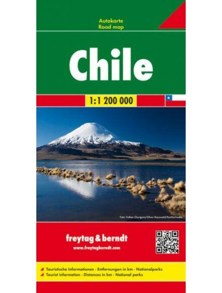 Chile térkép