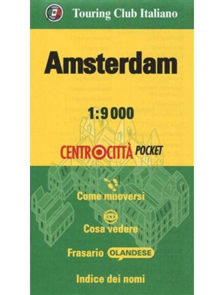 Amszterdam zsebtérkép