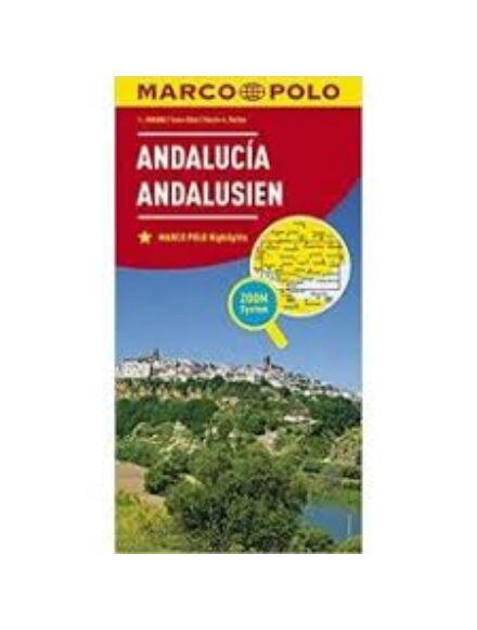 Andalúzia térkép