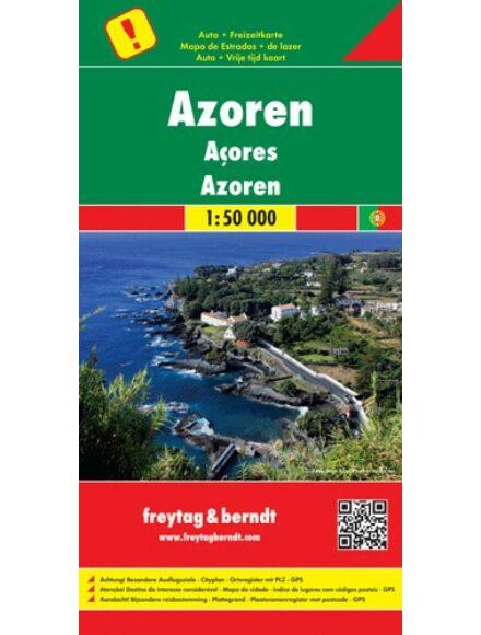 Azori-szigetek térkép
