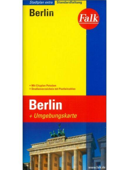 Berlin és környéke extra várostérkép