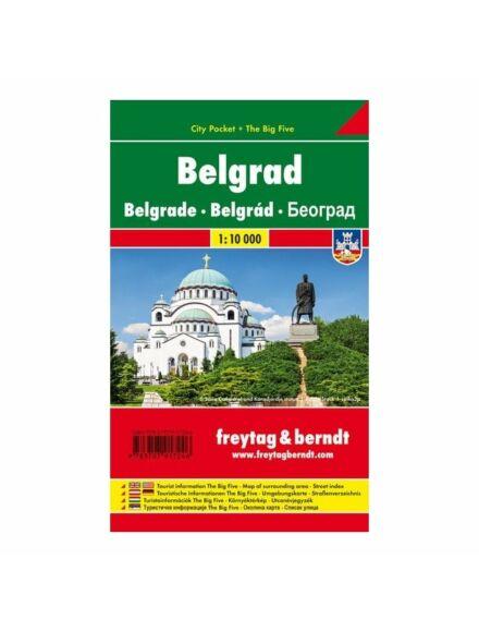 Cartographia  - Belgrád City Pocket térkép