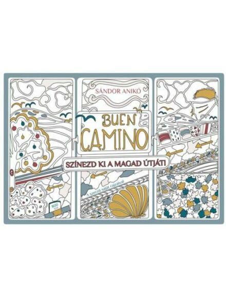 Buen Camino (Színezőkönyv)